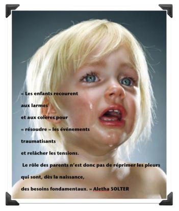Aletha Solter pleurs