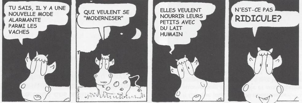 Code et vaches